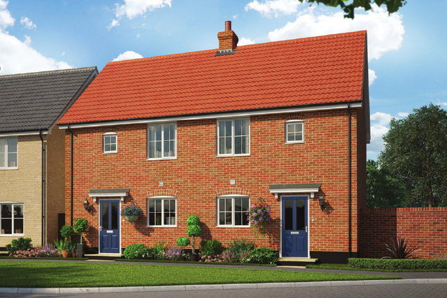 Thumbnail Semi-detached house for sale in Colne Gardens, Off Robinson Road, Colchester, Essex
