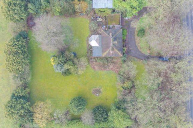 Aerial Above of Cambridge Road, Abington, Cambridge CB21
