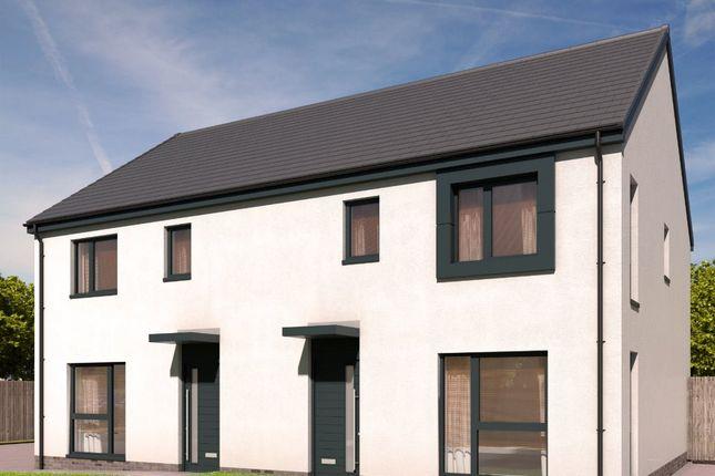 Thumbnail Semi-detached house for sale in The Cameron - Plot 35, Devongrange, Sauchie, Alloa, Clackmannanshire