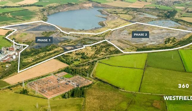 Thumbnail Land for sale in Land At Westfield, Dunfermline, Fife