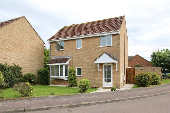 Thumbnail Detached house to rent in Nene Way, St. Ives, Huntingdon