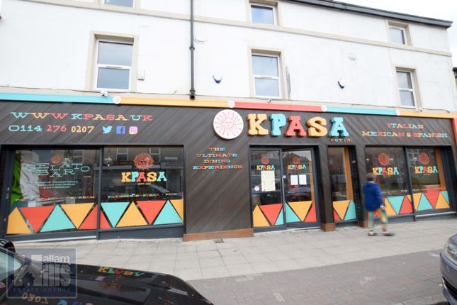 Thumbnail Restaurant/cafe to let in London Road, Sheffield, South Yorkshire
