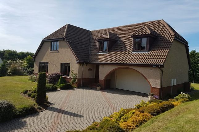 Thumbnail Detached house for sale in Springfield Croft Road, Forres, Moray