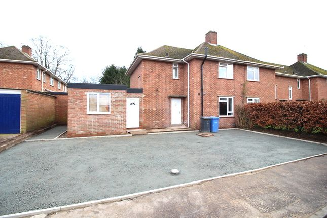 Thumbnail Semi-detached house to rent in Mottram Close, Norwich