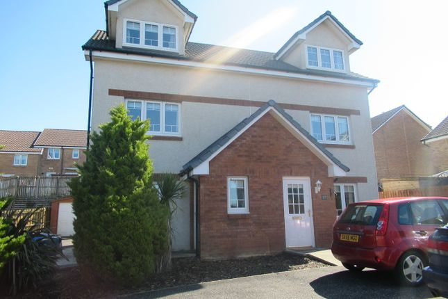 Thumbnail Town house for sale in Meiklelaught Place, Saltcoats