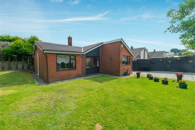 Thumbnail Detached bungalow for sale in Stratford Close, Farnworth, Bolton, Lancashire