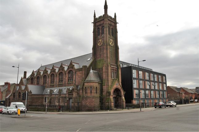 External of St Cyprians - The Cube, Edge Hill, Liverpool L7