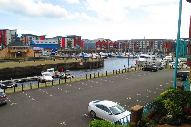 3 bed maisonette for sale in Pocketts Wharf, Maritime Quarter, Swansea, City & County Of Swansea.