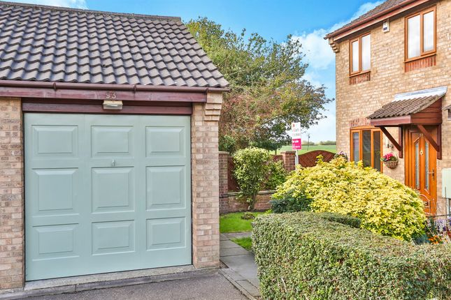 Thumbnail End terrace house for sale in Suffield Close, Tharston, Norwich
