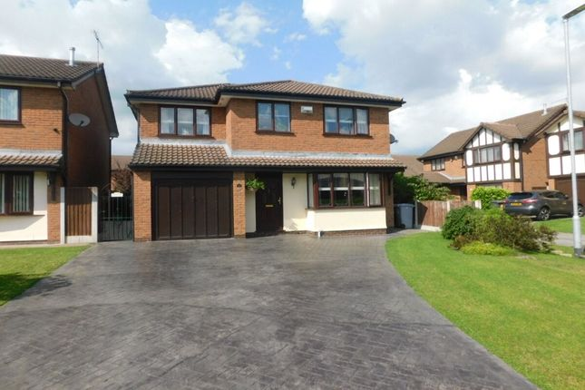 Thumbnail Detached house for sale in Thorpe Close, Crewe