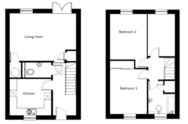End terrace house for sale in Farriers Way, Widegates, Looe, Devon