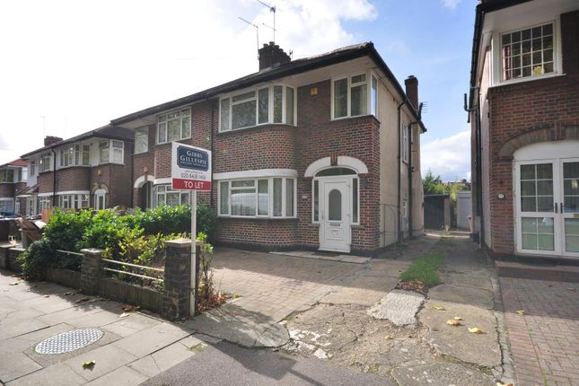 Thumbnail Semi-detached house to rent in Alexandra Avenue, Harrow, Middlesex