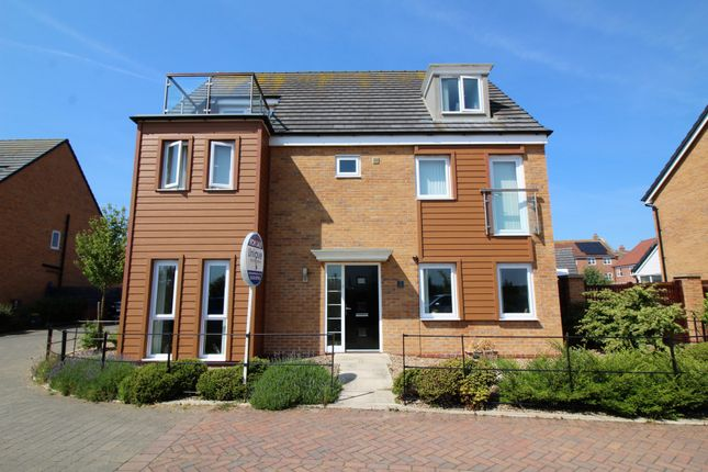 Thumbnail Detached house for sale in Voyager Close, Fleetwood