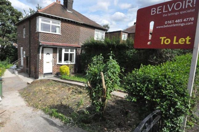 Thumbnail Semi-detached house to rent in Birdhall Road, Cheadle, Cheshire