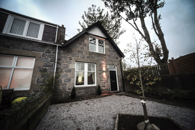 Thumbnail Semi-detached house to rent in Burns Gardens, West End, Aberdeen, 4Pw
