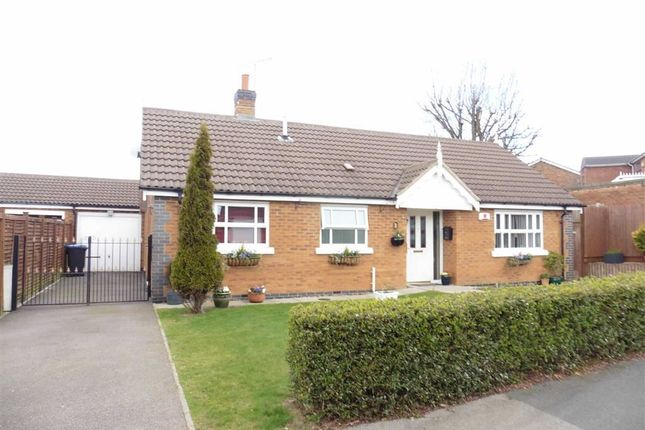 Thumbnail Detached bungalow for sale in Kilberry Close, Hinckley