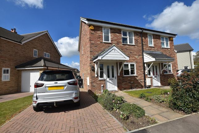 2 bed semi-detached house to rent in Benham Close, Goldhanger, Maldon, Essex CM9