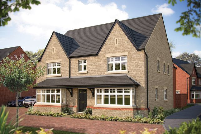 "Thumbnail Detached house for sale in ""The Ascot"" at The Crescent, Flore, Northampton"