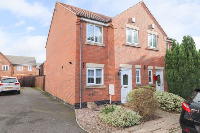 Thumbnail Semi-detached house to rent in Rose Gardens, Arkwright Town, Chesterfield