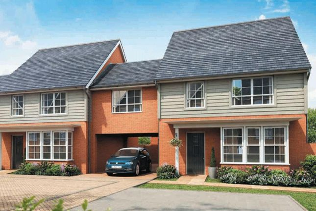 "Thumbnail Semi-detached house for sale in ""Chesham"" at Fen Street, Brooklands, Milton Keynes"