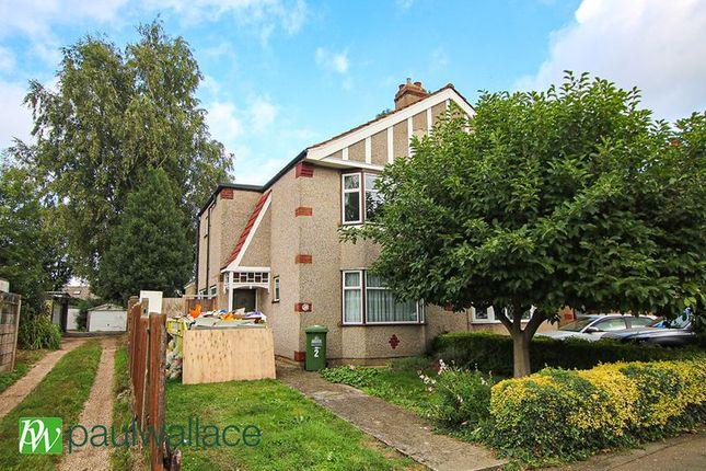 Thumbnail Semi-detached house to rent in Marina Gardens, Cheshunt, Waltham Cross