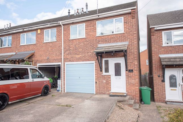 Thumbnail End terrace house to rent in Eaton Street, Mapperley, Nottingham