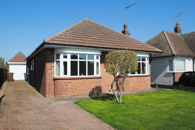 Thumbnail Detached bungalow for sale in Church Hall Road, Rushden