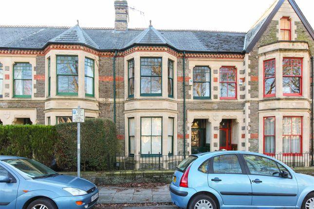 Thumbnail Terraced house to rent in Plasturton Gardens, Cardiff