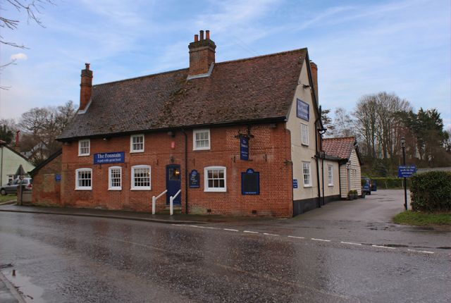 Thumbnail Pub/bar for sale in The Street, Tuddenham St. Mary