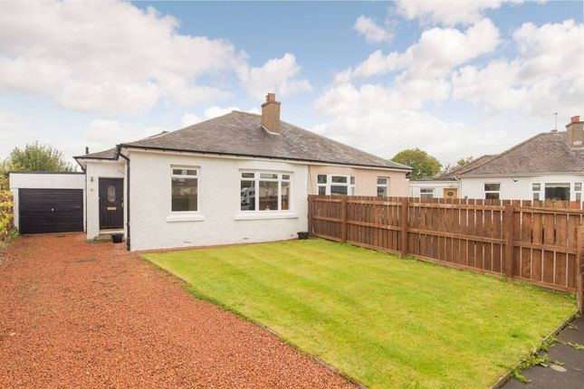Thumbnail Semi-detached bungalow for sale in 69 Ashley Drive, Edinburgh