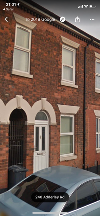 Thumbnail Terraced house to rent in Adderley Road, Birmingham