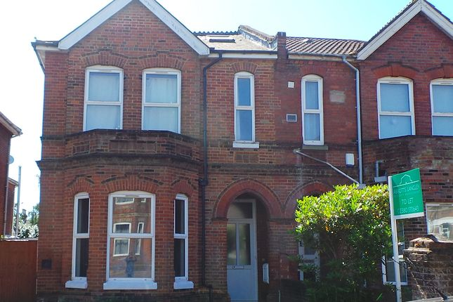 Thumbnail Semi-detached house to rent in Alma Road, Southampton