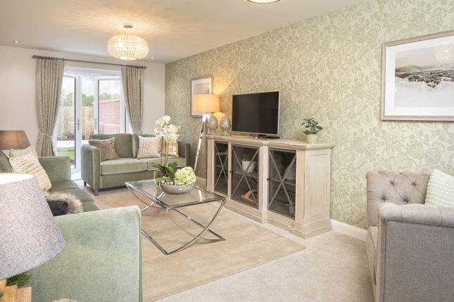 "Thumbnail Detached house for sale in ""Thornton"" at Burniston Close, Melksham"