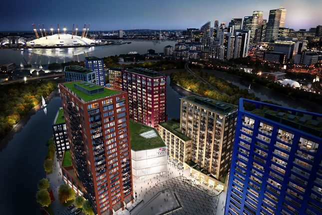 Thumbnail Flat for sale in London City Island, 45 Hope Street, London