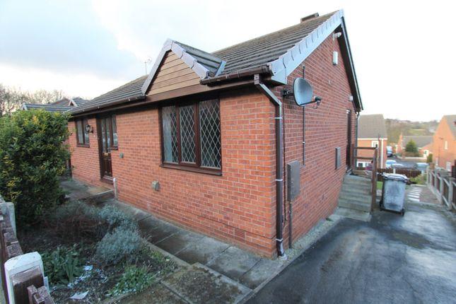 Thumbnail Detached bungalow to rent in Ellavale Road, Elsecar, Barnsley