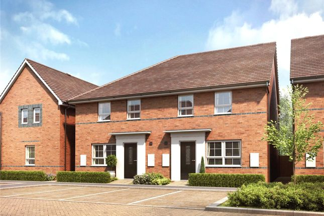 Thumbnail End terrace house for sale in Hanworth Lane, Chertsey
