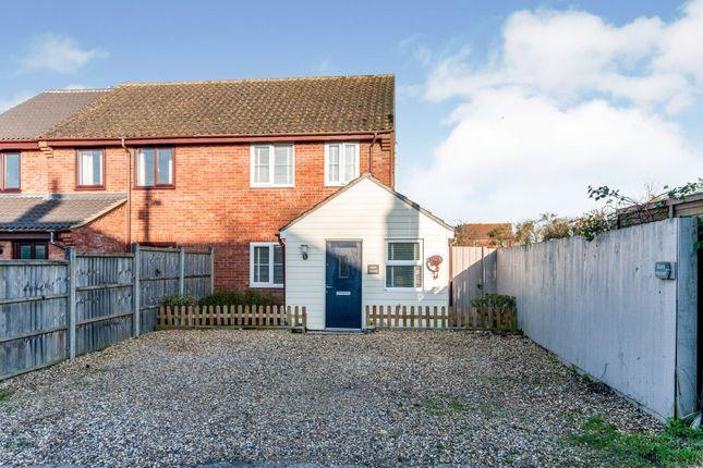 Thumbnail Semi-detached house for sale in Norton, Bury St Edmunds, Suffolk
