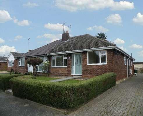 Thumbnail Semi-detached bungalow to rent in Cissbury Ring, Werrington, Peterborough