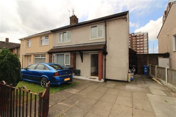 Thumbnail Semi-detached house for sale in Medbourne Crescent, Kirkby, Liverpool