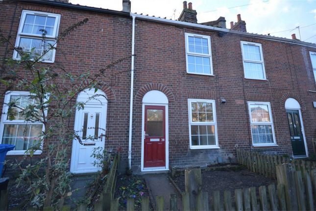 Thumbnail Terraced house for sale in Bull Close Road, Norwich