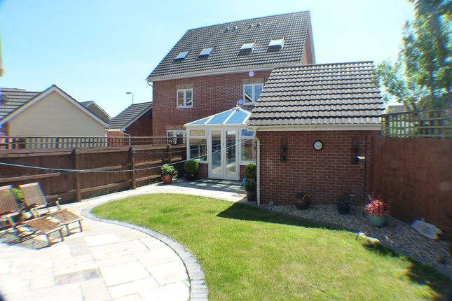 Thumbnail Town house to rent in Golwg Y Coed, Swansea
