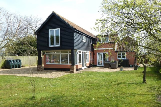 Thumbnail Detached house to rent in Eye Road, Brome, Suffolk