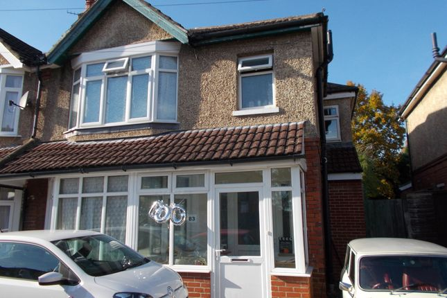 Thumbnail Terraced house to rent in Upper Shaftesbury Avenue, Southampton