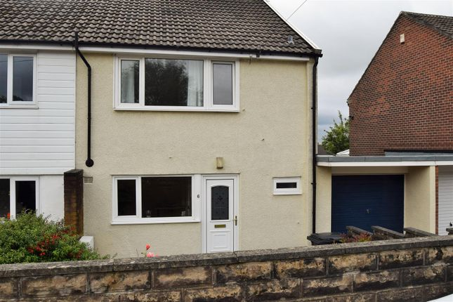 Thumbnail Semi-detached house for sale in Heywood Close, Northowram, Halifax