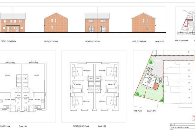 Thumbnail Land for sale in Shrewsbury Street, Glossop