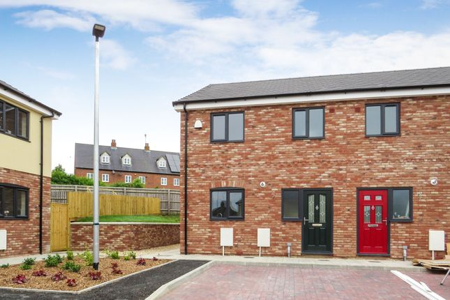 Thumbnail Semi-detached house for sale in Jenner Davies Close, Bridgend, Stonehouse