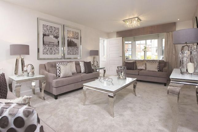"Thumbnail Detached house for sale in ""Warwick"" at Saxon Court, Bicton Heath, Shrewsbury"