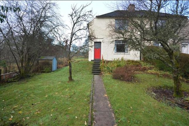 Thumbnail Semi-detached house to rent in Manse Road, Aberfoyle, Stirling