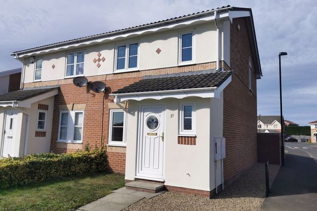 3 bed semi-detached house to rent in Woodlea, Forest Hall, Newcastle Upon Tyne NE12