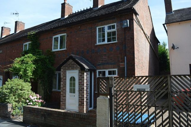 Thumbnail End terrace house for sale in Aqueduct Road, Telford, Shropshire.